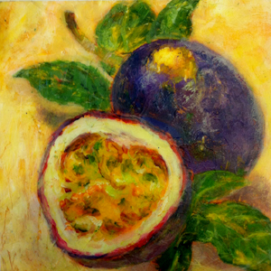 passion fruit painting