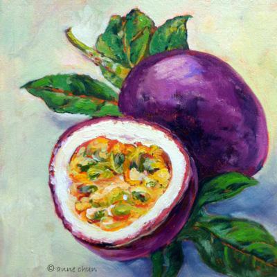 passion fruit impasto