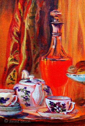 tea serving still life