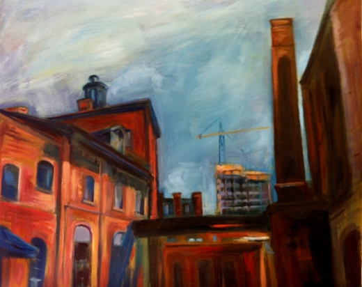 distillery district painting