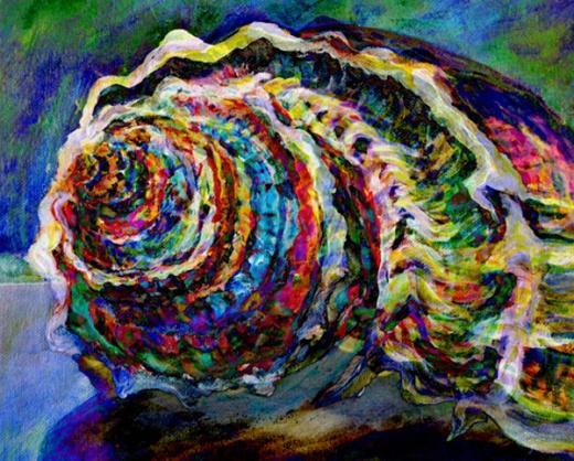 groovy seashell