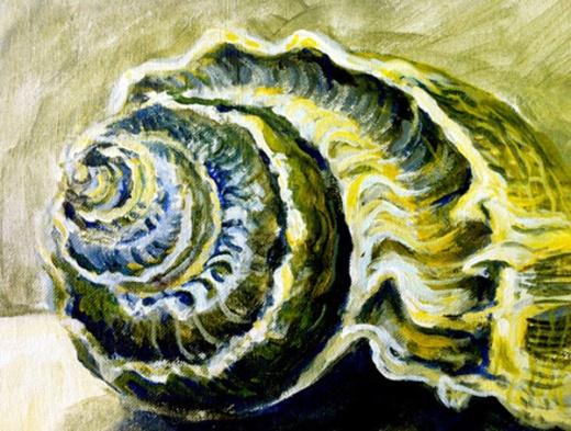 seashell painting 2