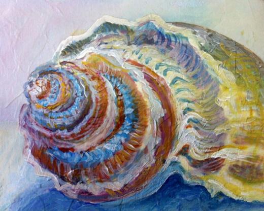 seashell painting 3
